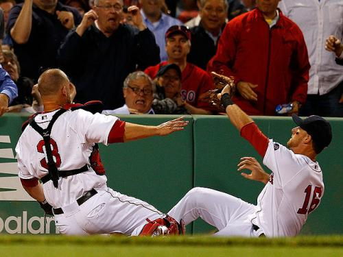 Middlebrooks, Ross Day-To-Day After Collision