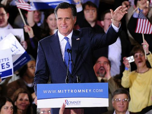 Mitt Romney Wins Illinois Primary