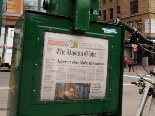 NY Times To Sell Boston Globe