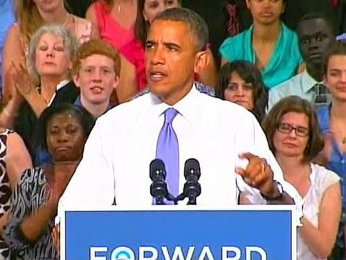 Obama Campaigns In NH, Raises Money In Boston