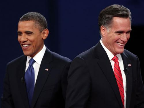 Obama, Romney Clash On Economy In First Debate