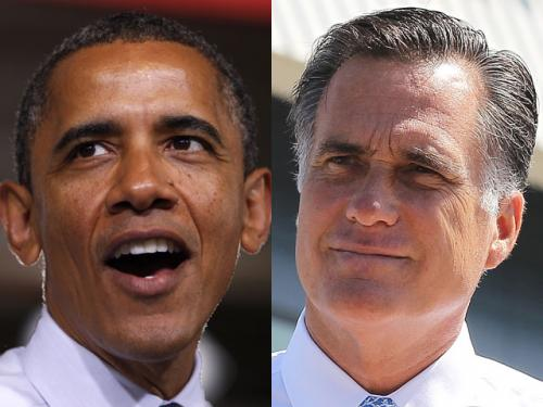 Obama, Romney Compete For Undecideds