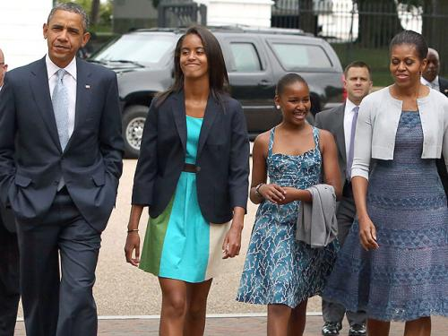 Obama Talks About Daughters' NH Summer Camp Experience