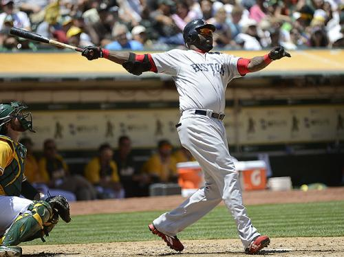 Ortiz Blasts 400th Career Home Run