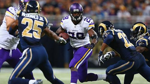 Over/Under: 120 Rushing Yards For Adrian Peterson vs. Patriots