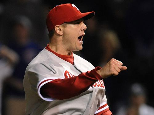 Papelbon Back At Fenway With Phillies