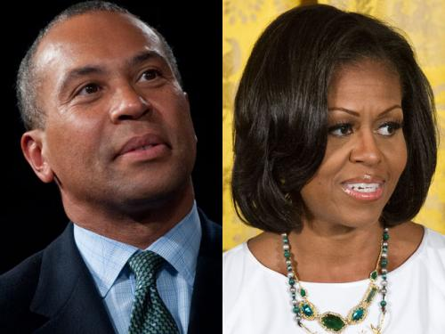 Patrick Defends Request To Have Potholes Filled Ahead Of Michelle Obama Visit