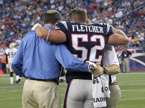 Patriots Blog: Dane Fletcher Trying To Stay Positive