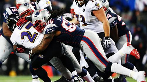 Patriots-Ravens Flexed Out Of Sunday Night Football