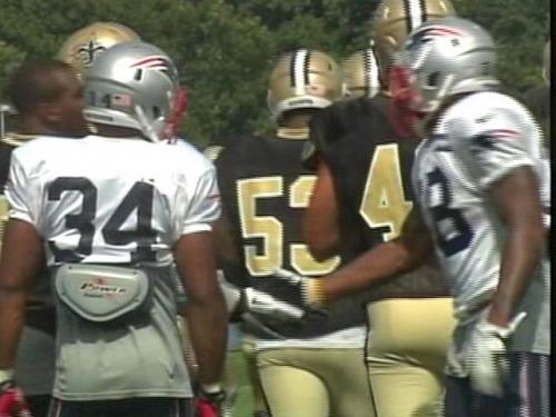 Patriots, Saints Enjoy Joint Practice At Gillette