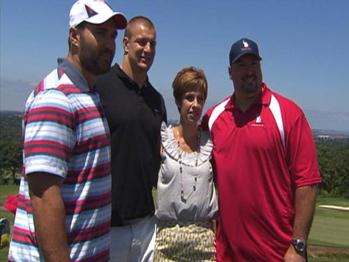 Patriots Tee-Off Against Cancer At 'Andruzzi And Friends Golf Tournament'