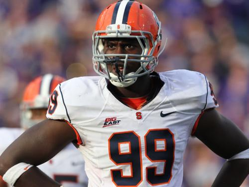 Patriots Trade Up For 21st Pick, Draft DE Chandler Jones