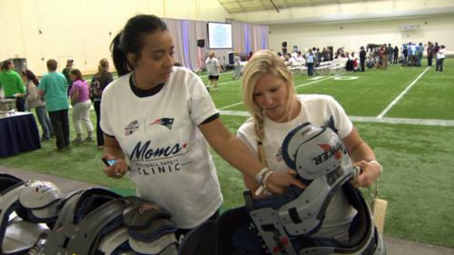 Pats Host Safety Clinic To Teach Moms Dangers Of Concussions