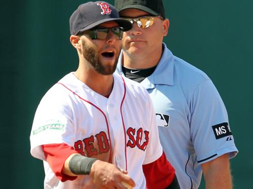 Pedroia (Thumb) Gets Night Off Against Tigers