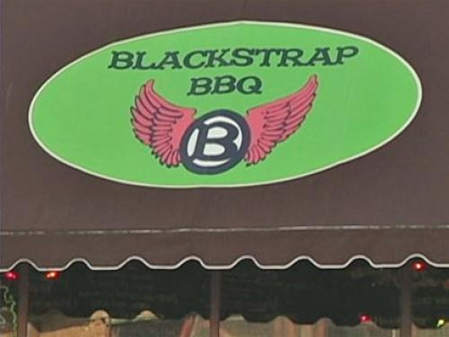 Phantom Gourmet: Blackstrap BBQ In Winthrop