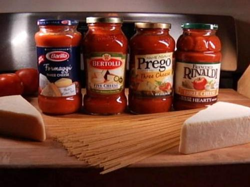 Phantom Gourmet: Tomato Sauce Taste Test