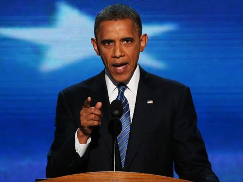 President Obama Accepts Nomination For Second Term