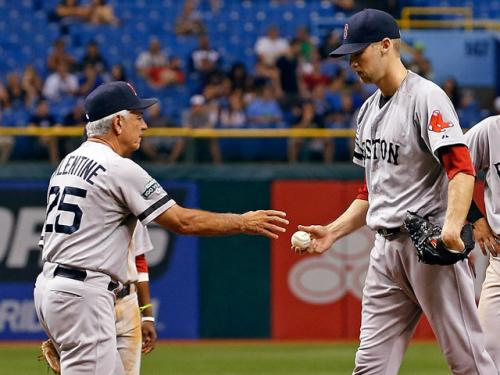 Rays Beat Red Sox 13-3, End 4-game Skid