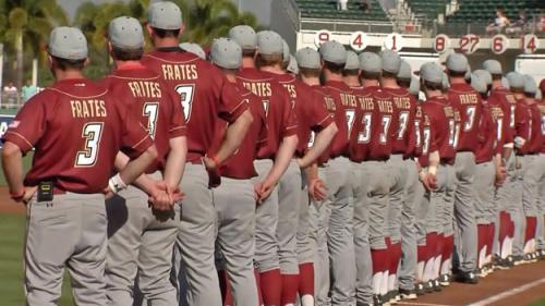 Red Sox, Boston College Honor Pete Frates During Spring Game