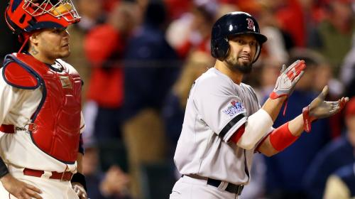 Red Sox Live Blog: Shane Victorino Scratched From Lineup; Jonny Gomes To Take His Place