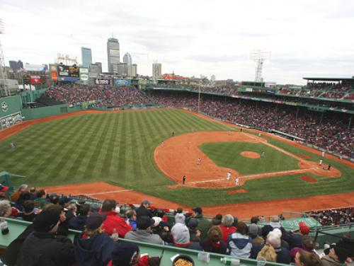 Red Sox Opening Day Ceremonies