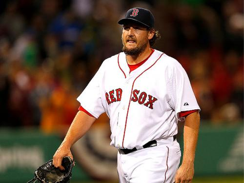 Red Sox Place Hanrahan On 60-Day Disabled List