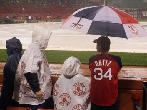 Red Sox-Rays Postponed Due To Weather