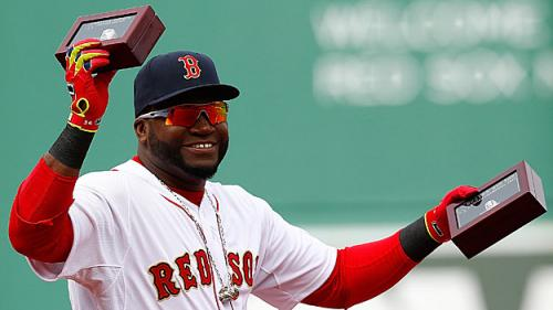 Red Sox Receive World Series Rings; Ortiz Given Special MVP Ring