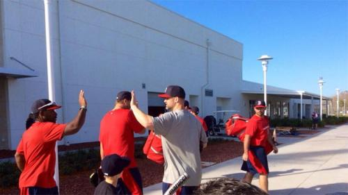 Red Sox Spring Training Blog: Pitchers & Catchers Report