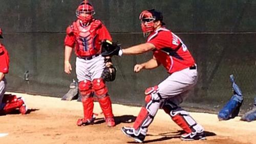 Red Sox Spring Training Blog: Pitchers And Catchers Particpate In First Official Team Workout