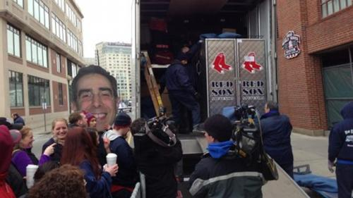 Red Sox Truck Day Ready To Roll On Thursday