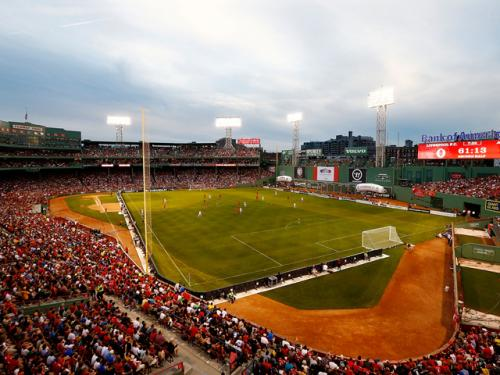 Report: Red Sox Trying To Host Notre Dame-UConn Football Game At Fenway Park