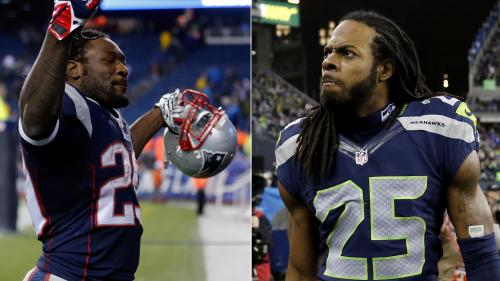 Richard Sherman, LeGarrette Blount Engage In Twitter Fight Over Who Is NFL's Best Cornerback