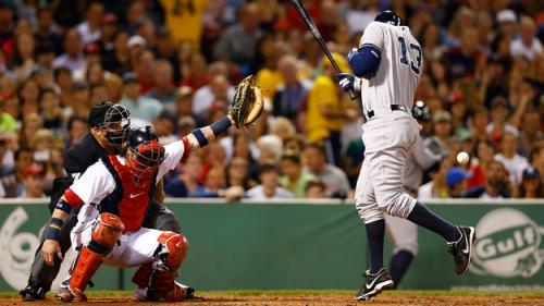 Rodriguez Calls Plunking By Red Sox 'Unprofessional And Silly'