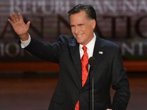 Romney Accepts Nomination, Focuses On Adding Jobs