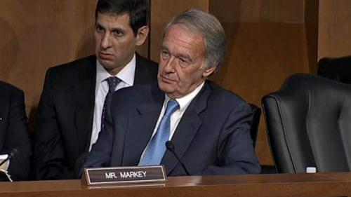 "Sen. Markey Votes ""Present"" On Syria Resolution"
