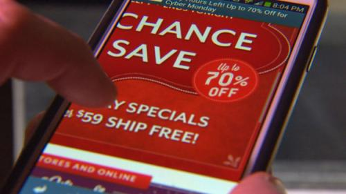 Shoppers Turn To Smartphones, Tablets On Cyber Monday