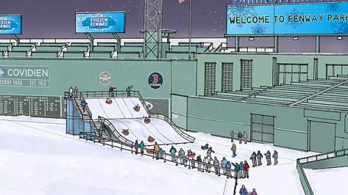 Sledding At Fenway? 'Monster Sled' Being Added To Frozen Fenway