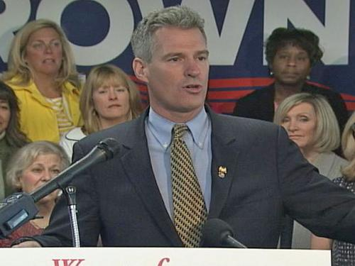 Snowe Urges Voters To Reward Sen. Brown For Bipartisanship