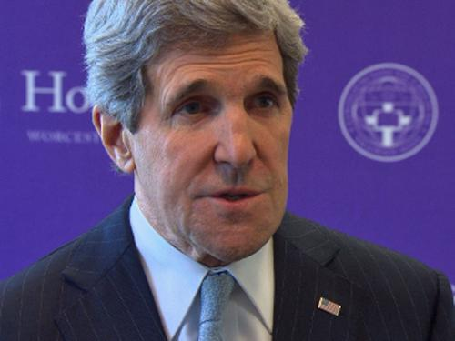 State Sec. Kerry Battles To Deliver On Big Ideas