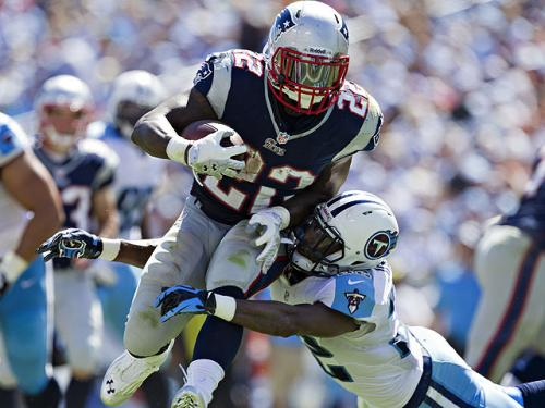 Strong Start For Patriots Running Back Stevan Ridley