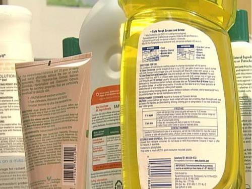 Study: Harmful Chemicals Left Off Household Product Labels