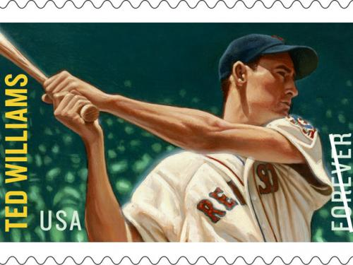 Ted Williams Stamps Available In July