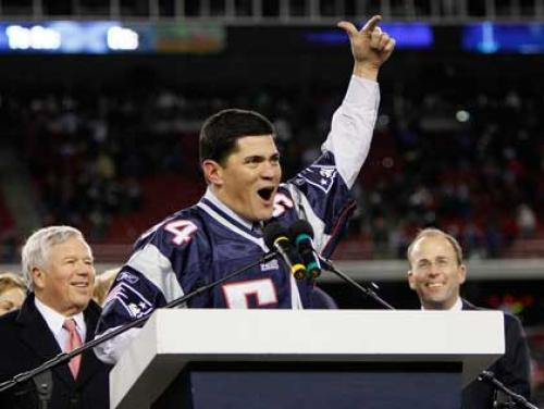 Tedy Bruschi Elected To Patriots Hall Of Fame