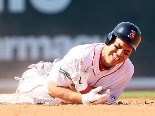 The Baseball Reporters: Sox Win Home Opener 12-2 Over Rays, Ellsbury Hurt