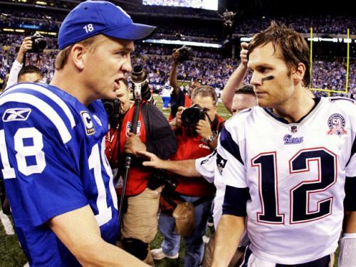Tom Brady, Peyton Manning Members Of Mutual Admiration Society