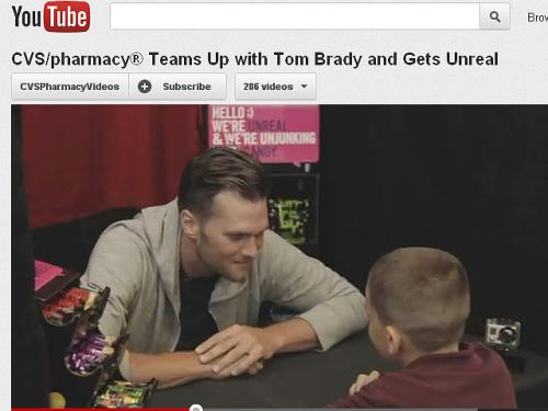 Tom Brady Surprises CVS Customers With Staring Contest