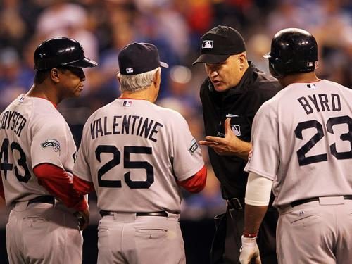Valentine Blasts Umpires After 4-3 Loss To Royals