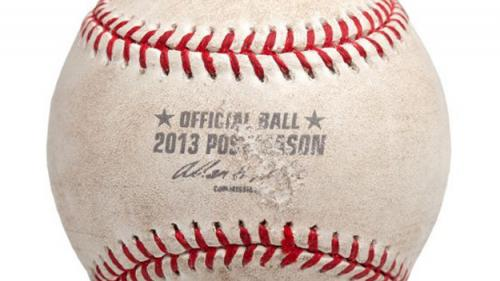 Victorino's Grand Slam Ball From ALCS Game 6 Hits Auction Block
