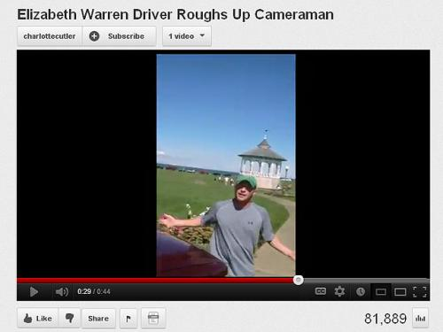 Video Shows Warren Cab Driver's Encounter With GOP Tracker Camera